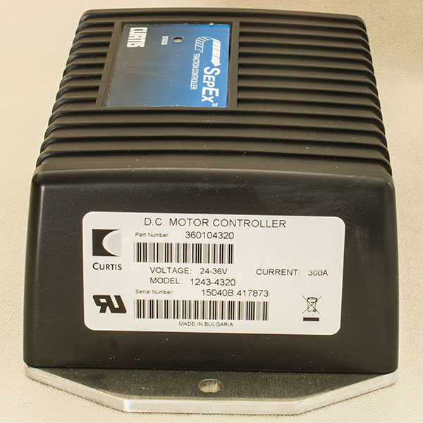 Model 1243-4320 - CURTIS Programmable DC SepEx Motor